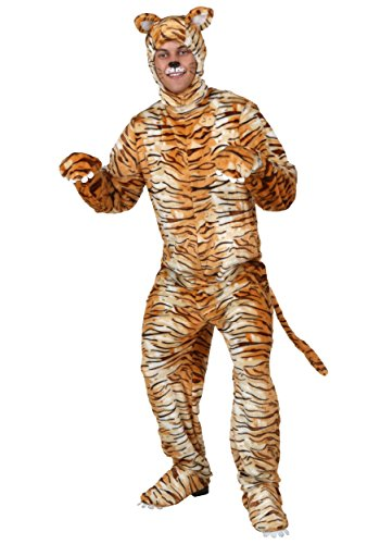 Adult Tiger Costume Standard (Tiger Costume Men)