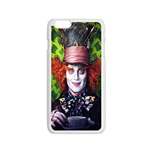 Mad Hatter From Alice In Wonderland Design Plastic Case Cover For Iphone 6