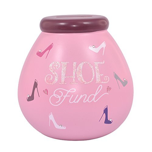 Shoe Fund Money Box (Pot Of Dreams Shoe Fund Pot Pots Of Dreams Money Save Up & Smash Box Gifts)