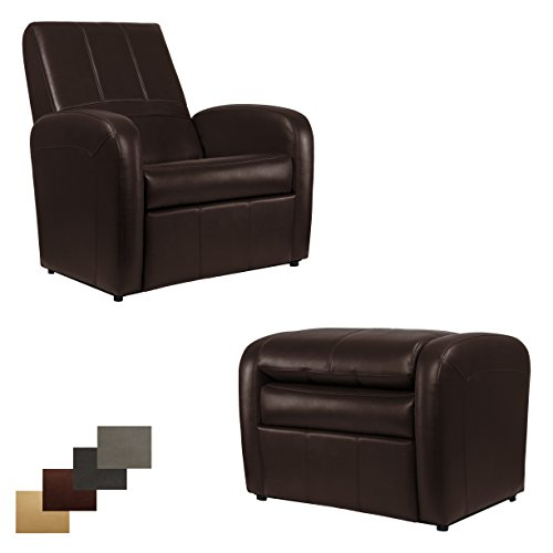 41s3sem WbL - RecPro-Charles-RV-Gaming-Chair-Ottoman-w-Storage-Mahogany