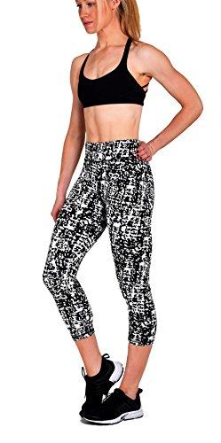 Active Workout Capri Leggings Prints