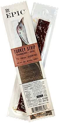 Jerky & Dried Meats: EPIC Snack Strips