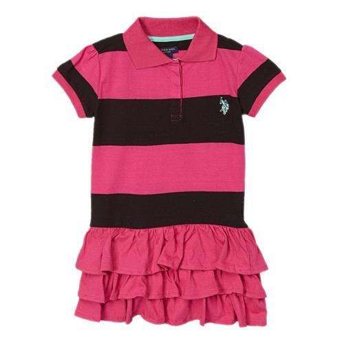 Pink Ruffled Dress - 9