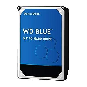 """Western Digital Blue 3TB PC Hard Drive - 5400 RPM Class, SATA 6 Gb/s, 64 MB Cache, 3.5"""" - WD30EZRZ"""