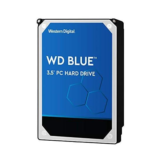 """WD Blue 2TB PC Hard Drive - 5400 RPM Class, SATA 6 Gb/s, 256 MB Cache, 3.5"""" - WD20EZAZ 41s3u7nSNjL. SS555"""
