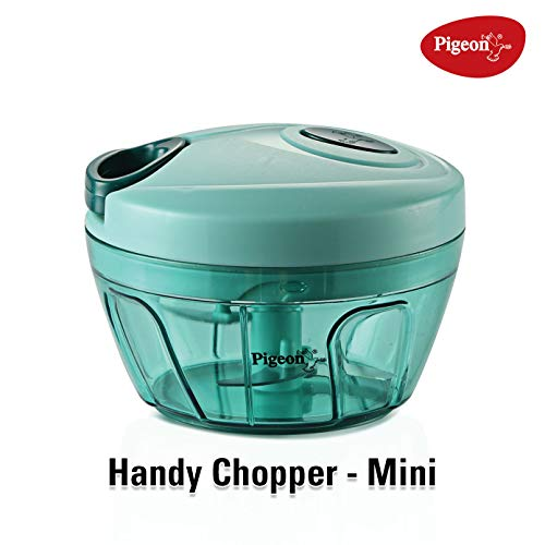 Pigeon by Stovekraft New Handy Mini Plastic Chopper with 3 Blades