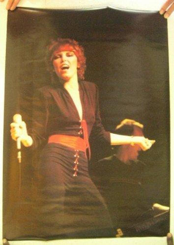 Pat Benatar Poster Vintage Concert Shot
