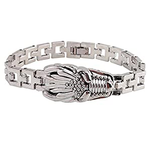 FVNR Bracelets for menTitanium Steel Strap Bracelet Dragon's Heir Titanium Steel Bracelet Men's Personality Bracelet