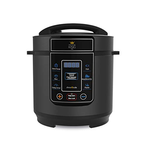 Pressure King Pro by Drew&Cole Electric Pressure Cooker 3 Litre 8-in-1 Multi...