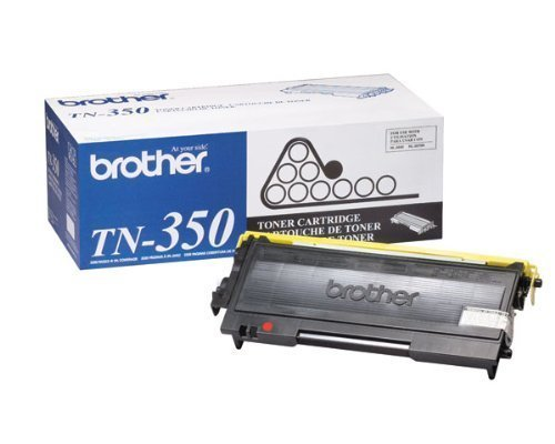 Brother DCP 7020, FAX 2820, 2920, HL 2040, 2070N, MFC 7220, 7225N, 7420, 7820N Toner Cartridge (2,500 Yield), Part Number TN350