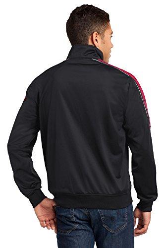 Black para Red Tr Sudadera hombre Sport Tek qn0wBxng