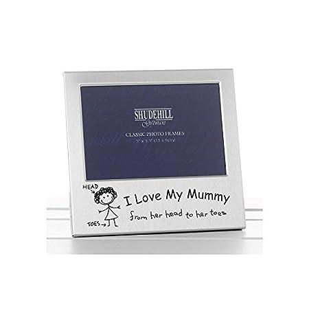 I Love my Mummy Photo Frame Christmas Birthday Mothers day Gift ...