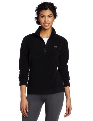 helly-hansen-womens-day-breaker-12-zip-fleece-shirt-black-xx-large