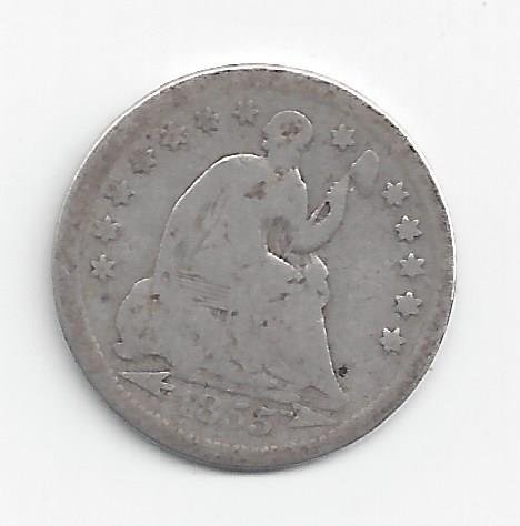 1837-1873 Seated Liberty Half Dime