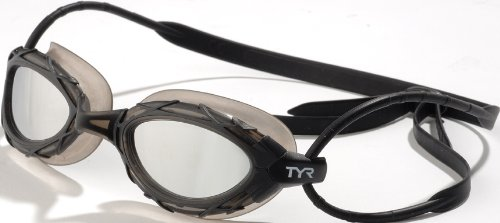 TYR Nest Pro Mirrored Goggles (Titanium Metallic)
