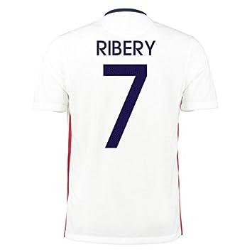 2015 – 2016 Francia Away Nike camiseta de fútbol (niños), Ribery 7,