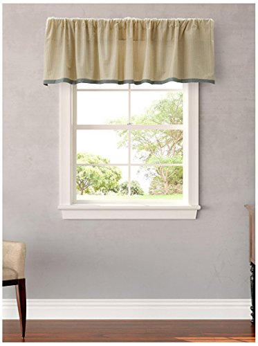 Laura Ashley La Berkley Designer Valance, Ivory, Windows