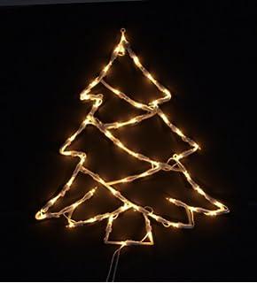weihnachtsbeleuchtung fenster silhouette weihnachten. Black Bedroom Furniture Sets. Home Design Ideas