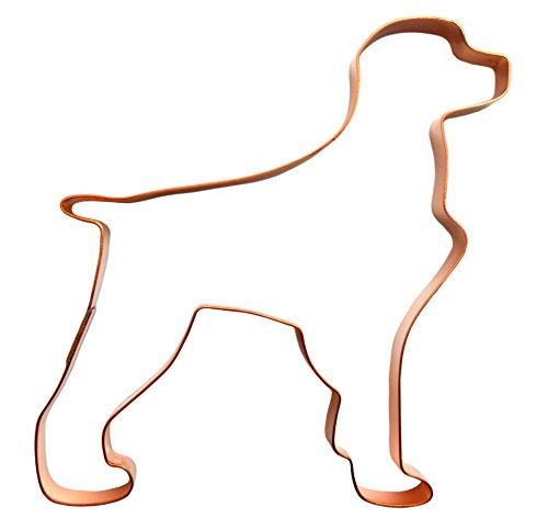 Biscuit Dog Ornament (Brittany Spaniel Copper Cookie Cutter)