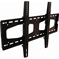 Monoprice Titan Series Tilt Wall Mount for Extra Large 37~70in TVs up to 165 lbs, Black UL Certified (No Logo)