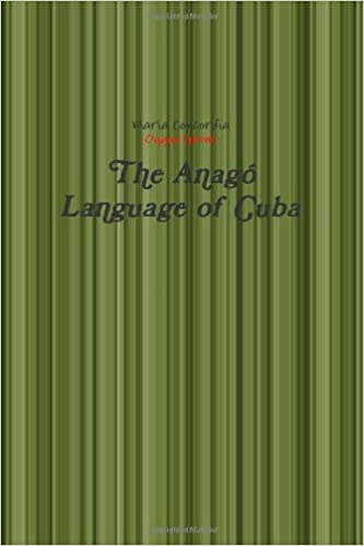The Anagó Language of Cuba