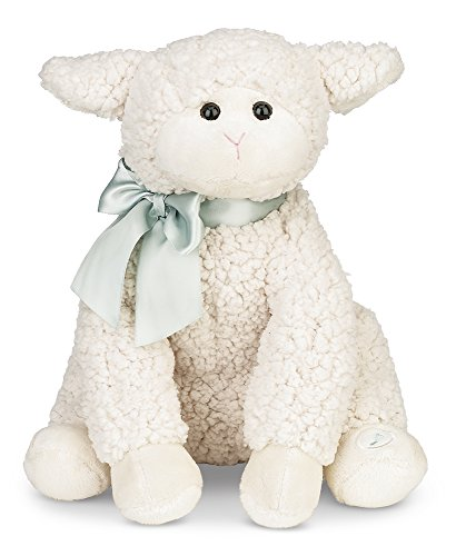 Bearington Baby Lamby Lullaby Animated Musical Plush Stuffed Animal Lamb (Farm Stuffed Animal Collection)