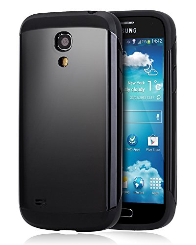 Galaxy S4 Mini Case - Noot® Basics Protector Armor Dual Layer Shock Absorbing Case for Samsung Galaxy S4 Mini GT-i9190 i9192 i9195 - Black - Eco Friendly Packaging - Lifetime Warranty (S4 Mini Samsung Case compare prices)