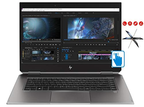 - HP ZBook Studio x360 G5 (Intel 8th Gen i7-8750H, 32GB RAM, 1TB PCIe SSD, 15.6