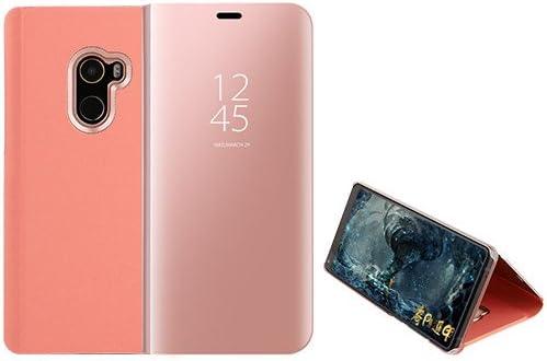 Funda® Espejo Enchapado Flip Xiaomi Pocophone F1 (Oro Rosa ...