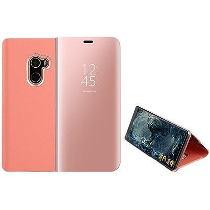 3be36425149 Funda® Espejo Enchapado Flip Xiaomi Mi Mix 2 (Oro Rosa). Haz clic para ...