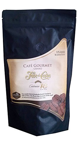 Flor De Caña Gourmet Coffee Flavored with Rum 18yrs (Whole Bean)