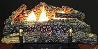 """product image for Deluxe Modulating LP Gas Fueled Ceramic Log Set Size: 30"""""""