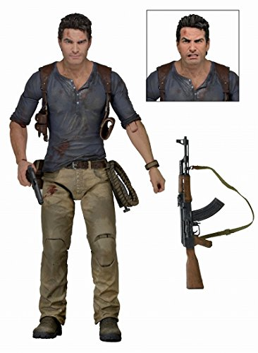 Uncharted 4 A Thief's End Nathan Drake Ultimate 7 Inch Action FigureNeca (Uncharted 4 Action Figure)