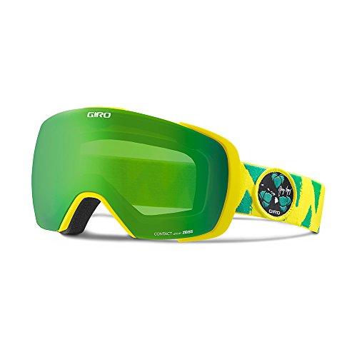 Giro Contact Men's Snow Goggles Gerry Lopez Green / Yellow / Loden Green (Giro Mens Ski)