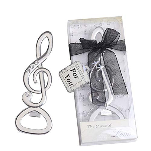 "58pcs ""Symphony"" Music Note Bottle Opener For Wedding Party Favor For Sale"