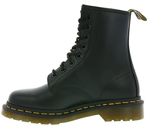 10072004 8 noires noir Dr 1460 trous Martens Chaussures lisse bottes aXXzq