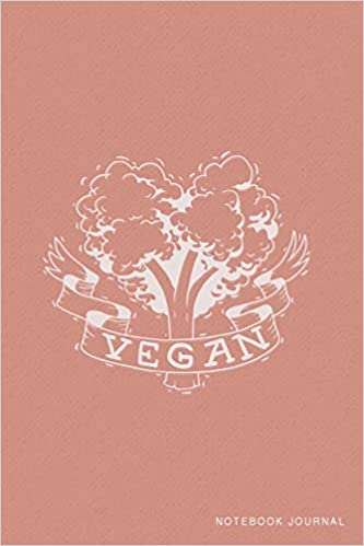 Vegan Notebook Journal College Ruled Lined Dusty Pink