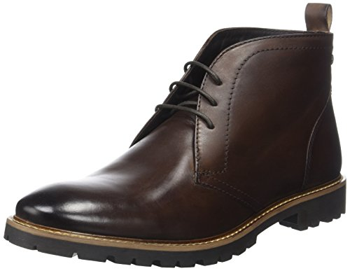 Base London Trojan, Stivali Chukka Uomo Marron (Brown Washed)
