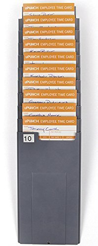 uPunch HNTCR10 Time Card Rack by uPunch