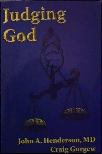 Judging God by John Henderson (2007-05-30)