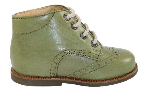 pour Chaussures Vert lacets à d'Oro de Grün Zecchino Antikgrün fille ville PYxHwfq