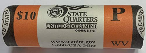 - 2005 P West Virginia State Quarter Roll US Mint BU