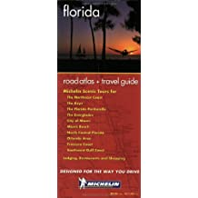 Michelin Florida Regional Atlas and Travel Information, No. 99656, 1st