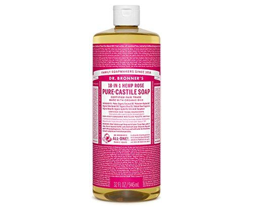 Dr. Bronners - Magic Pure-Castile Soap Organic Rose - 32 oz.