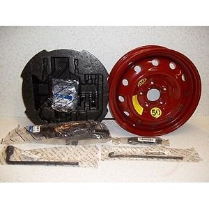 2011-13 Hyundai Sonata Hybrid Spare Tire Kit (Oem Comes with Tire Mounted on Rim)