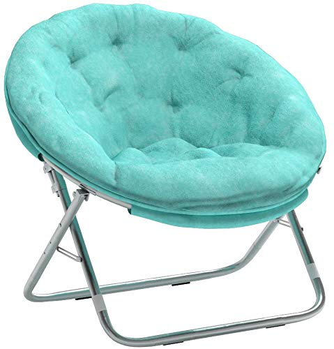 Mainstay WK656338 Saucer Chair, Wind Aqua by Mainstay