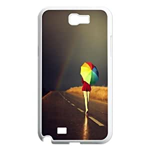 Rainbow And Glaring Color Protective Case 122 For Samsung Galaxy Note 2 Case At ERZHOU Tech Store