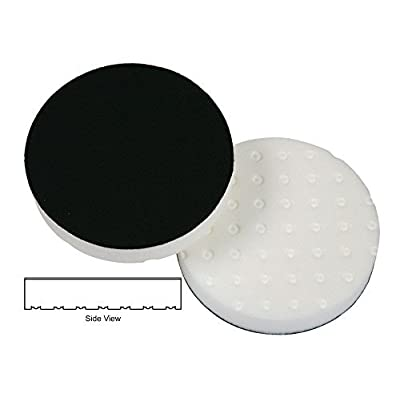 Lake Country - CCS White Hook & Loop Foam Polishing Pad - 6.5 Inch Diameter: Automotive