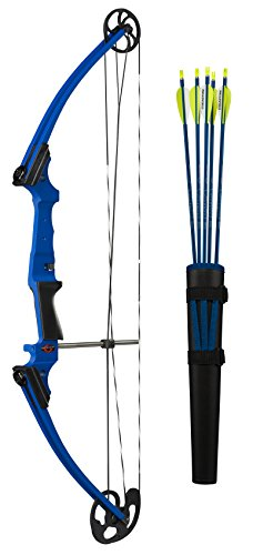 Genesis Bow Kit, Right Handed, Blue Raspberry - Genesis Blue Bows
