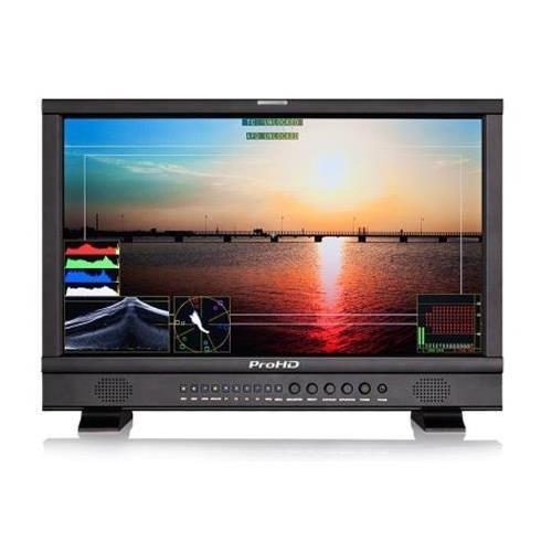 """JVC ProHD DT-N17F 21.5"""" Full HD Broadcast Studio LED Monitor, 1920x1080"""